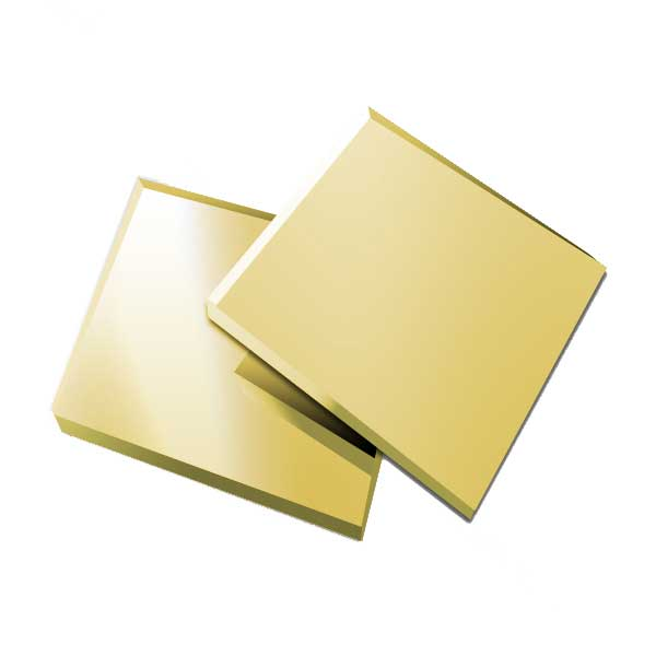 SS Gold Mirror Sheet